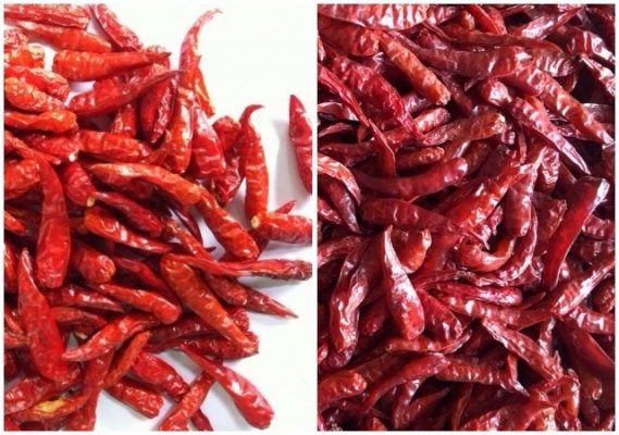 Note when buying dried chili products, chili powder 2